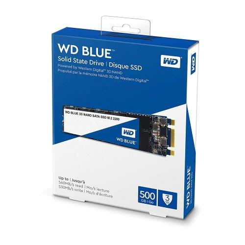 WD M2 SATA Blue 500GB SSD-notebookdrsziget-